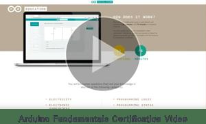 Arduino Fundamentals Certification Video