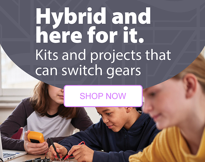 Hybrid and here for it. Kits and projects that can switch gears